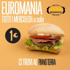 Mercoledì È Euromania!