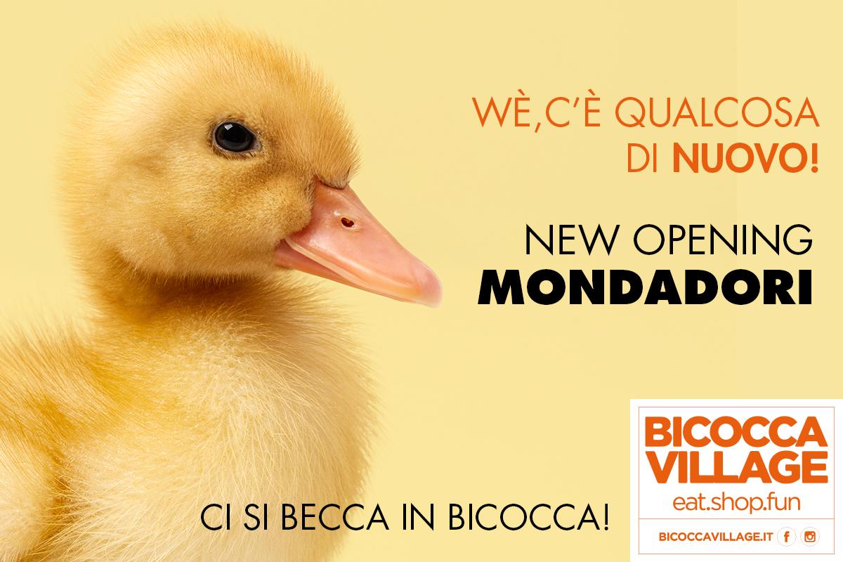 Al Bicocca Village apre Mondadori Store!
