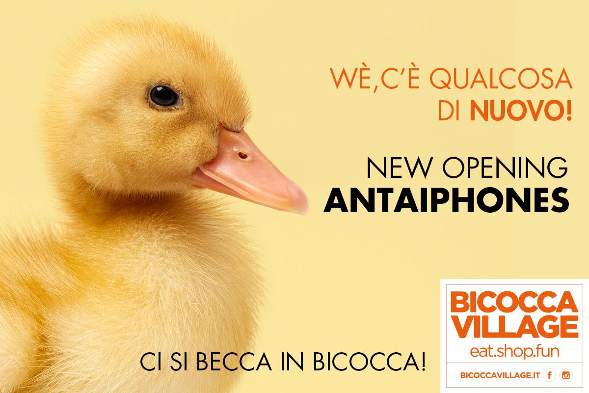 A Bicocca Village arriva Antaiphones!